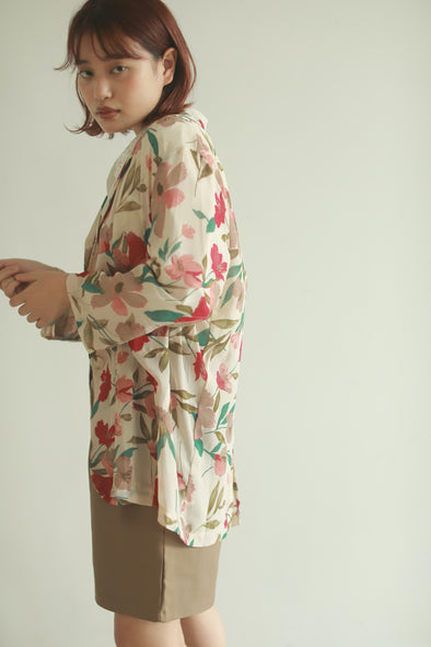 loose flower shirt PR130067