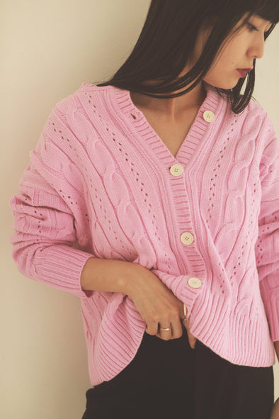 Pastel color cardigan PR000231