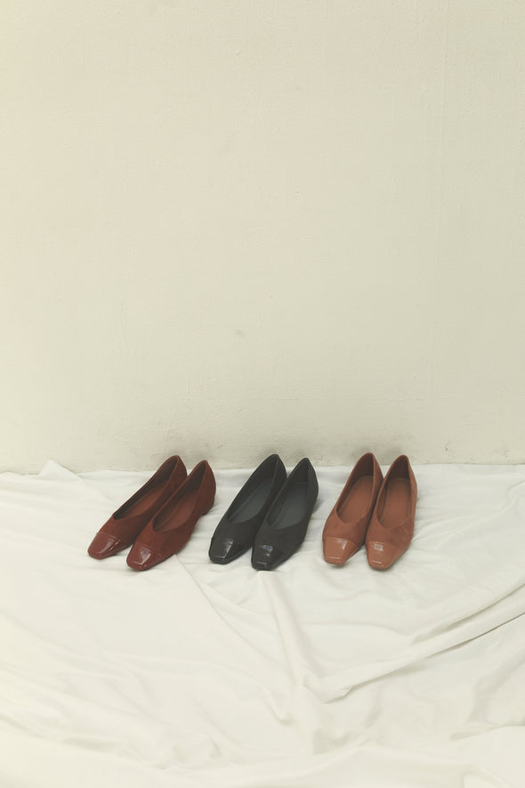 Suede flat shoes PRK000029