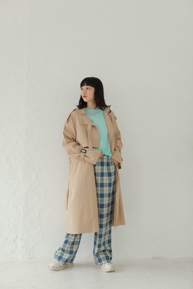Layered trench coat PR120151