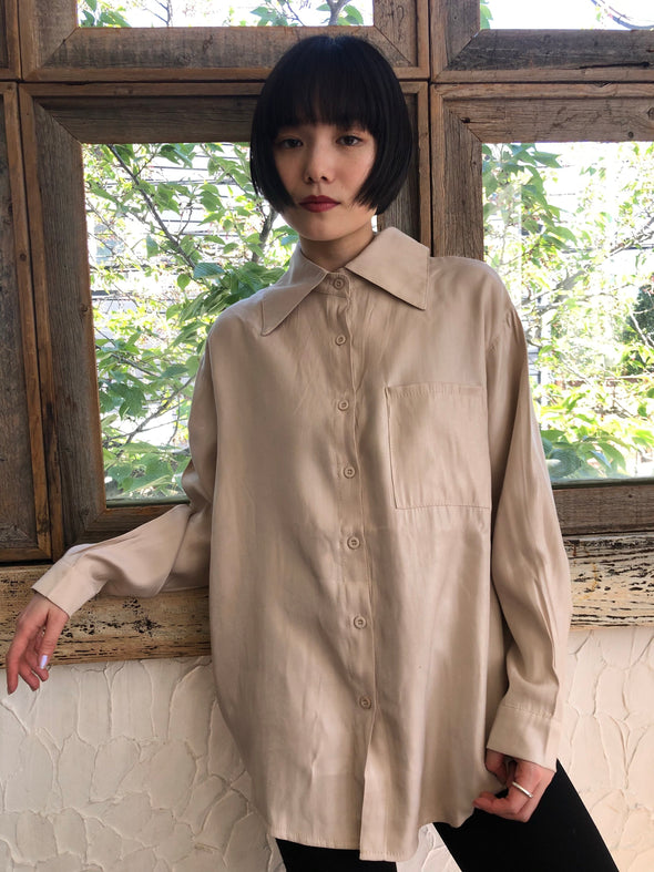 tailored bigsilhouette shirt PR140001