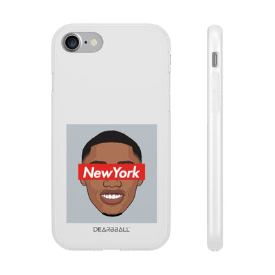 RJ Barrett Phone Cases - NEW YORK Grey Supremacy