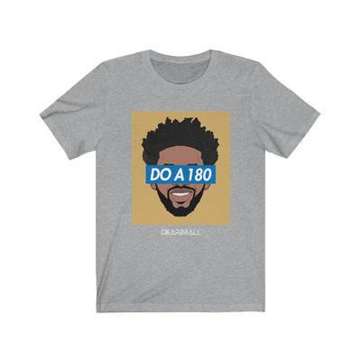 Joel Embiid T-Shirt - DO A 180 Gold Supremacy