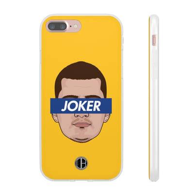 Nikola Jokic Phone Cases - Joker Yellow Supremacy Premium