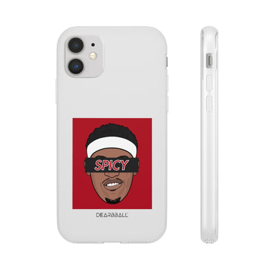Pascal Siakam Phone Cases - SPICY Black Supremacy