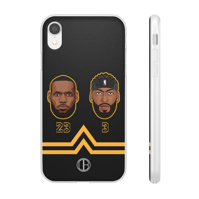 Lebron James and Anthony Davis Phone Cases - LA Duo Limited Edition