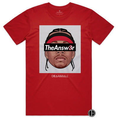 Allen_Iverson_Shirt_The_Answer_Grey_Dearbball_Red