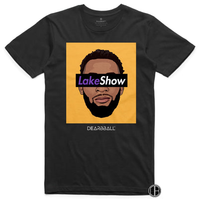 Andre Drummond T-Shirt - Leak Show Yellow Los Angeles Lakers Basketball Dearbball black