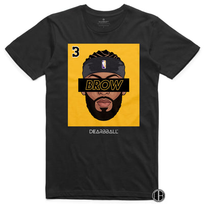 Anthony Davis T-Shirt BROW 3 Headband Black Version Basketball Dearbball black