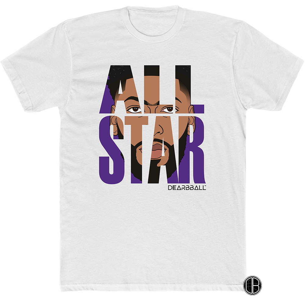 Anthony Davis Purple ALL STAR GAME