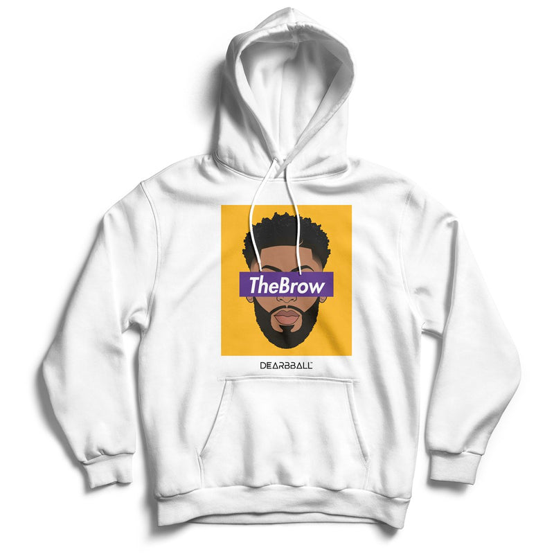 Anthony_Davis_hoodie_THE_BROW_Los_Angeles_Lakers_dearbball_Purple