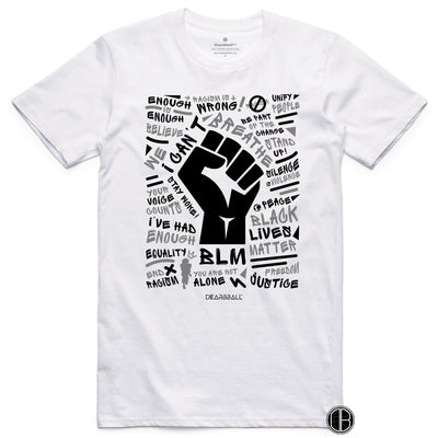 BLM_Black_And_White_Shirt_Dearbball_White