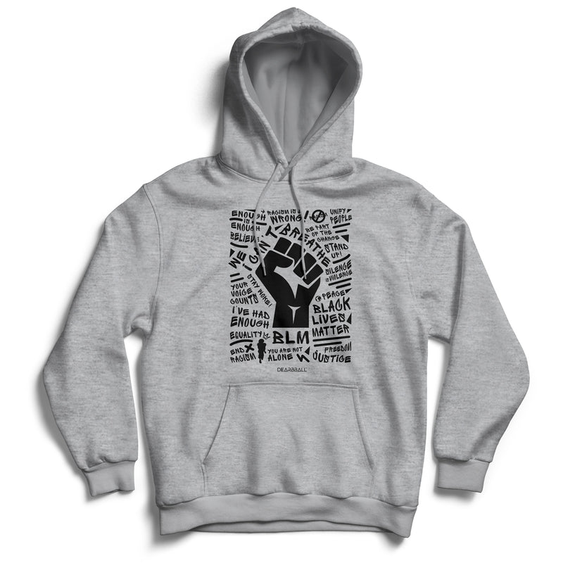 BLM_Black_Or_White_Hoodie_Dearball_Black