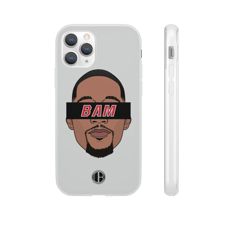 Bam Adebayo Miami Phone Cases - Grey Limited Edition