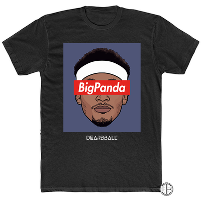 Bradley Beal T-Shirt - Big Panda Grey Supremacy