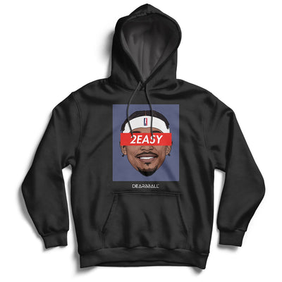 Bradley Beal Hoodie - 2Easy Blue Washington Wizards Basketball Dearbball black