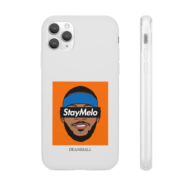 Carmelo Anthony Phone Cases - Stay Melo Black Supremacy