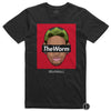 Dennis Rodman Shirt 1998 Finals Hair Style - TheWorm Black Supremacy Legends