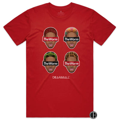 Dennis Rodman Shirt - The Worm 4 Hair Style Supremacy Legends