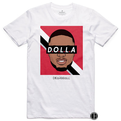 Damian_Lillard_Shirt_DOLLA_Dearbball_White