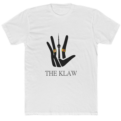 The Klaw CN Tower White Shirt - 2 Rings