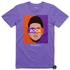 Devin Booker T-Shirt Purple D-Book Phoenix Suns Basketball Dearbball