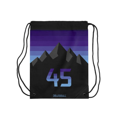 Donovan Mitchell Drawstring Bag - Salt Lake Gradient Purple 2