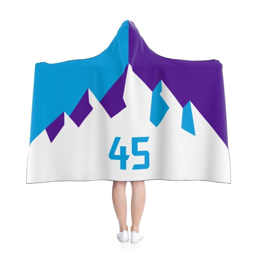 Donovan-Mitchell-Hooded-Blanket-Moutains-45-Utah-Jazz-Basketball-Dearbball