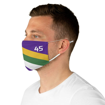 Donovan-Mitchell-Mask-45-Jazz-Vintage-Stripes-Basketball-Dearbball