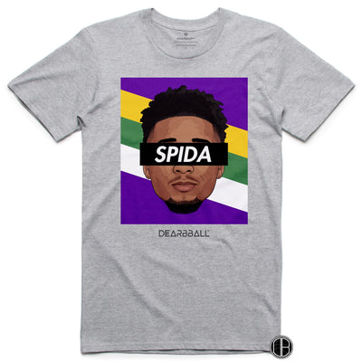 Donovan_Mitchell_Shirt_Spida_Utah_Dearbball_Grey