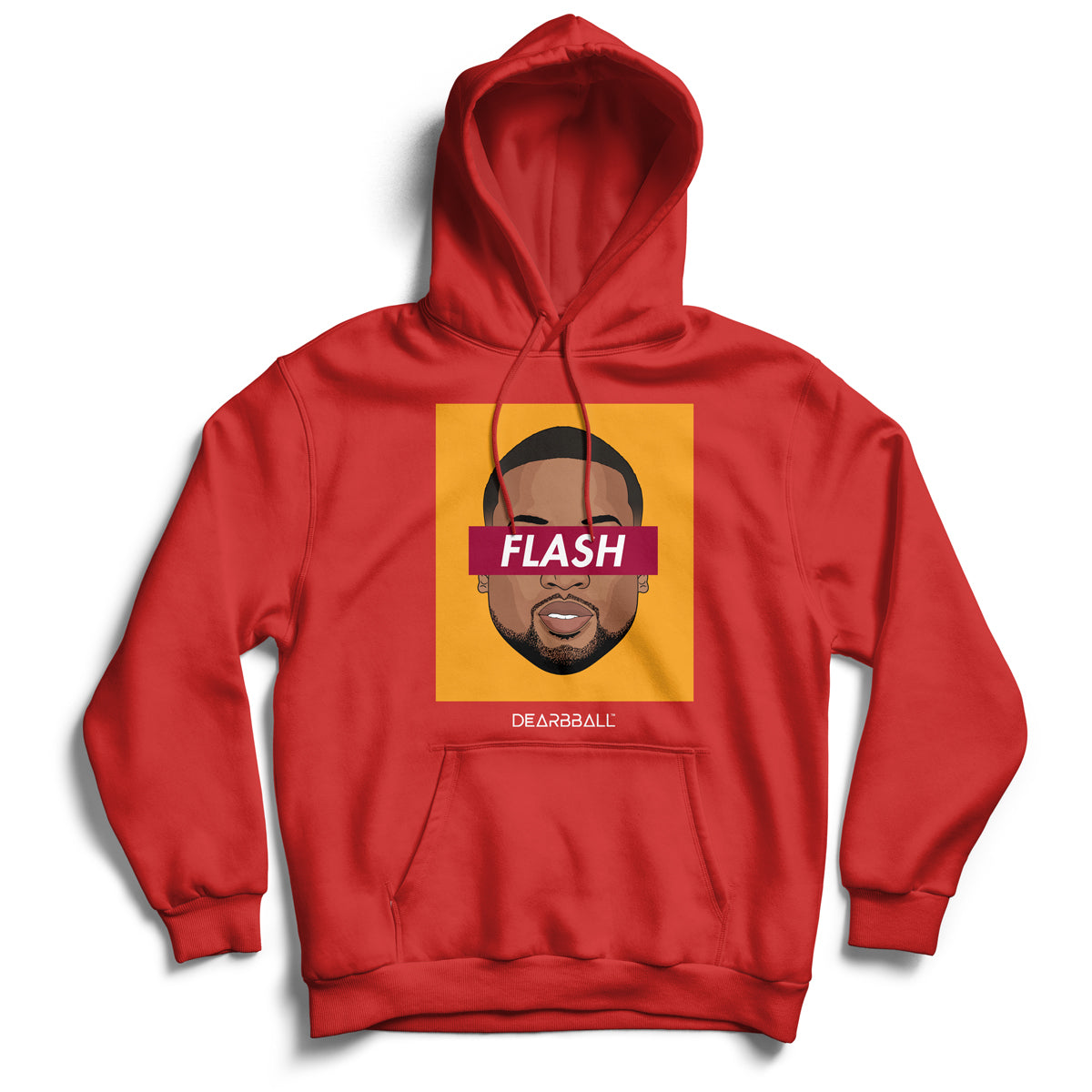 Dwyane_Wade_hoodie_FLASH_Miami_Heat_Colors_dearbball_red