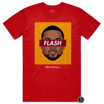 Dwyane_Wade_shirt_FLASH_Miami_Heat_Colors_dearbball_red