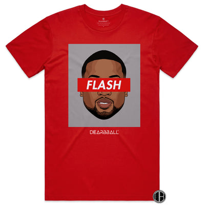Dwyane_Wade_shirt_FLASH_Miami_Heat_dearbball_red