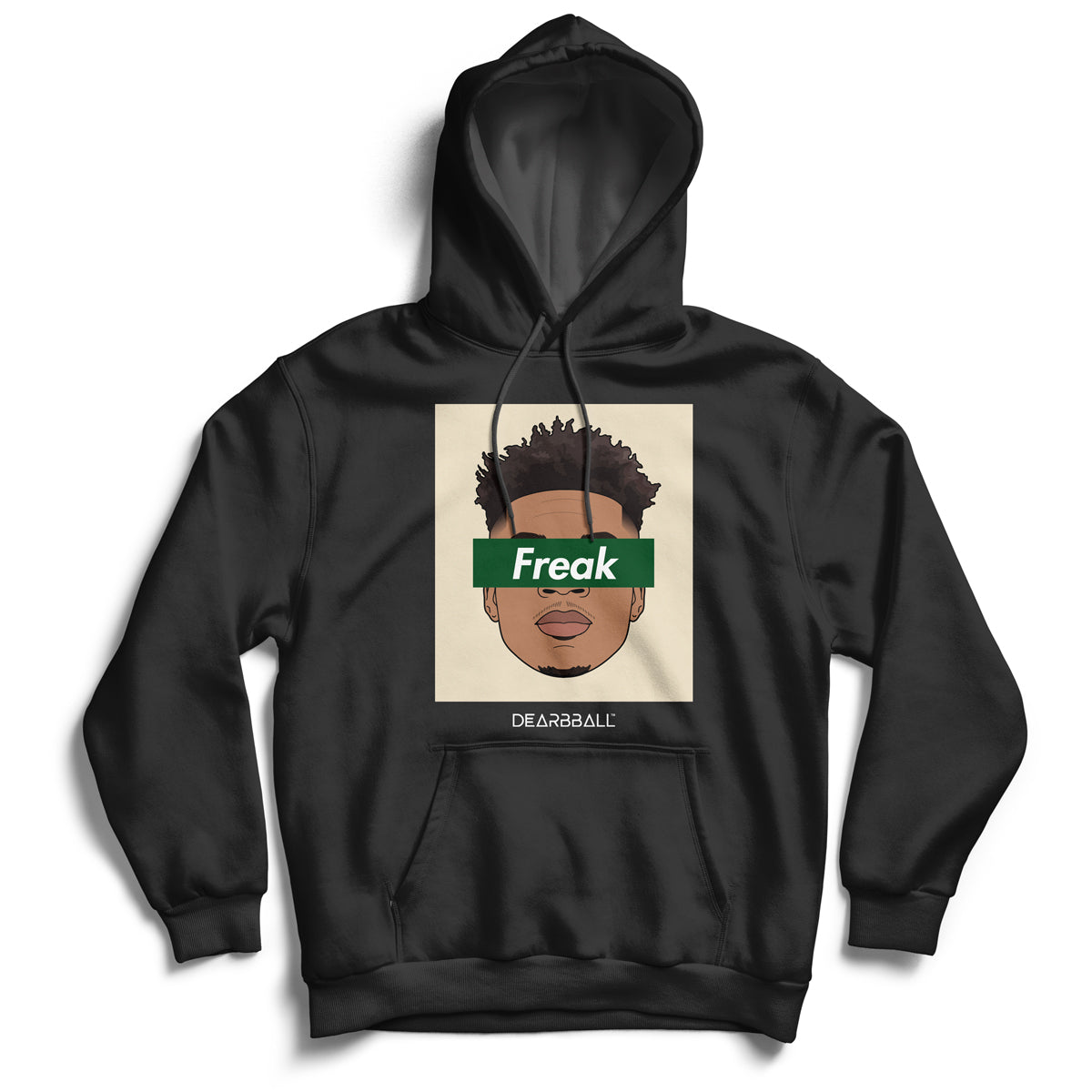 Giannis_Antetokounmpo_hoodie_FREAK_MILWAUKEE_COLORS_Milwaukee_Bucks_dearbball_black