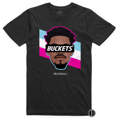 Jimmy-Butler-T-Shirt-Buckets-Miami-Heat-Stripes-Limited-Edition-Basketball-Dearbball