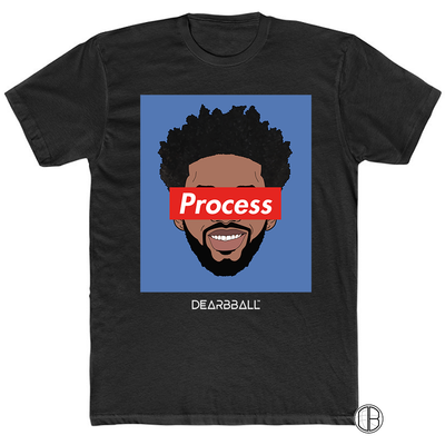 Joel Embiid T-Shirt - Process Hoops Supremacy