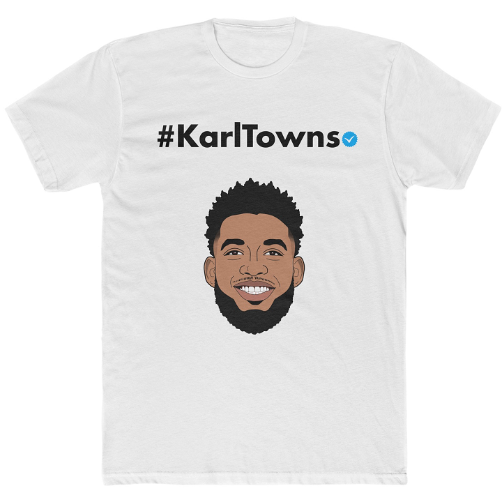 Karl-Anthony Towns Shirt - KarlTowns Instagram
