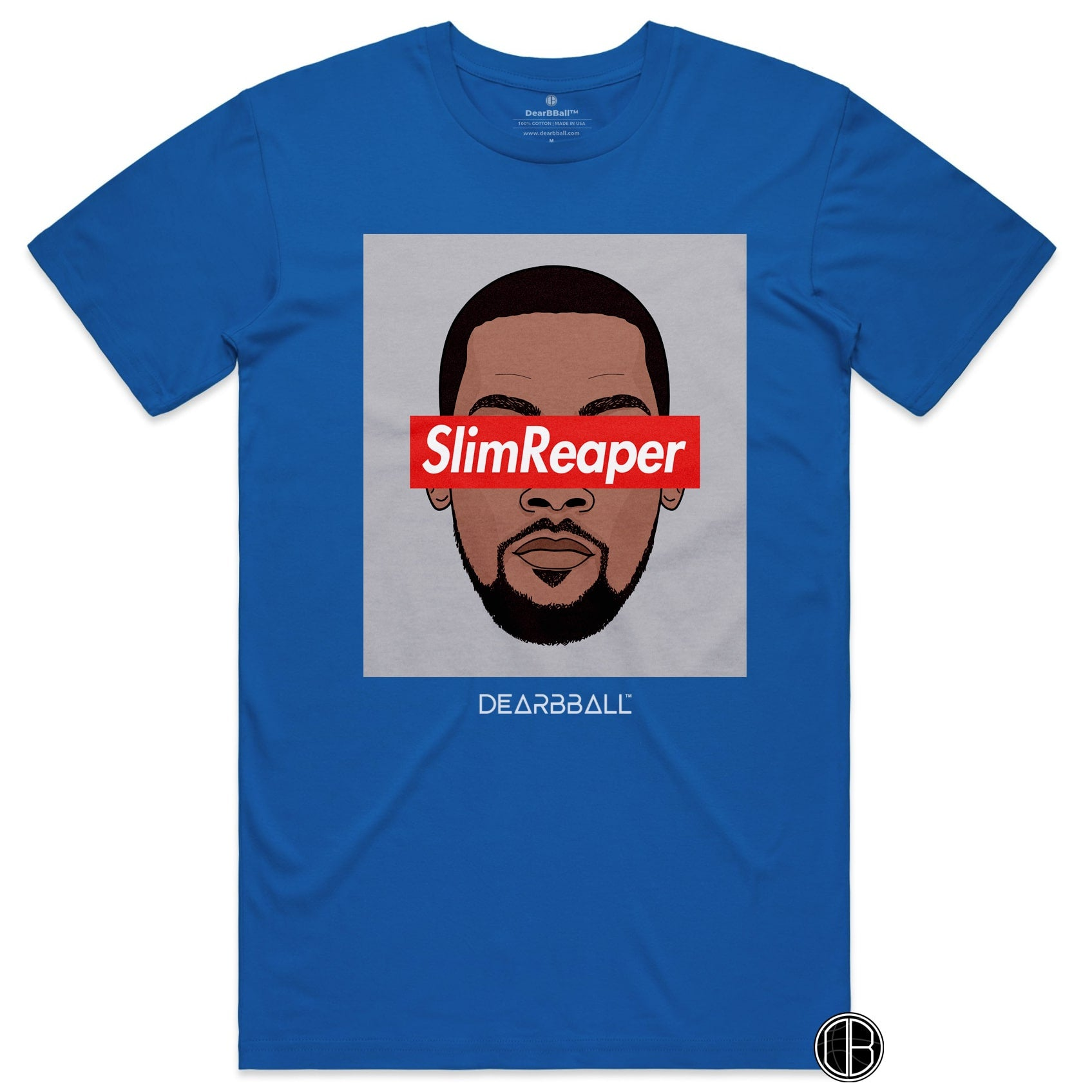 Kevin Durant Shirt - SlimReaper Brooklyn Colors Brooklyn Nets Basketball Dearbball royal