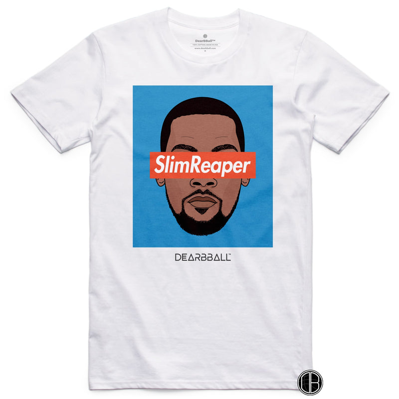 Kevin Durant Shirt - SlimReaper Oklahoma Colors Brooklyn Nets Basketball Dearbball black