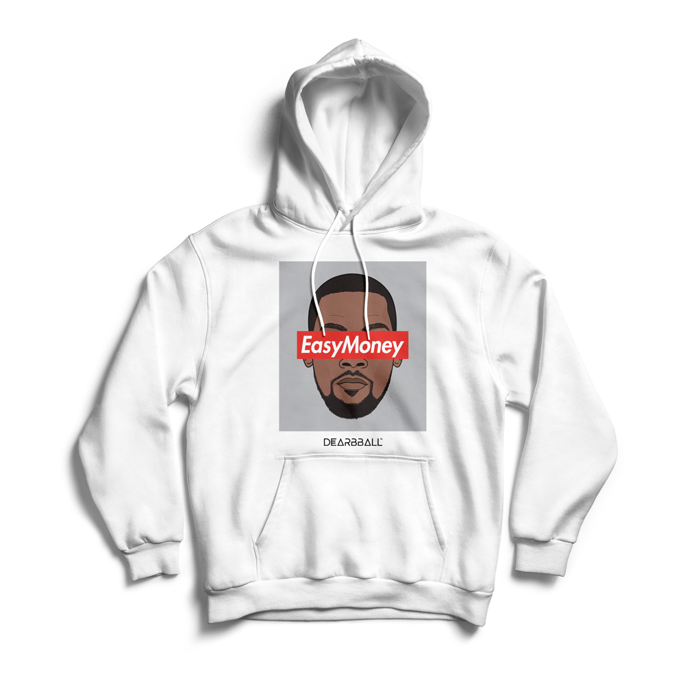 Kevin Durant Hoodie - EasyMoney Brooklyn Colors Supremacy