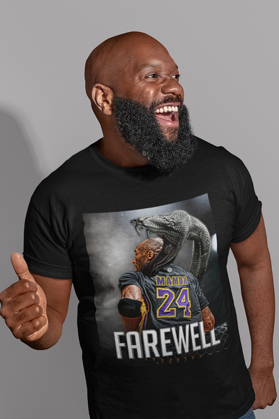 Mamba Out Black Shirt