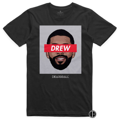 Kyrie Irving 2021 T-Shirt - Drew Classic  Brooklyn Nets Basketball Dearbball black