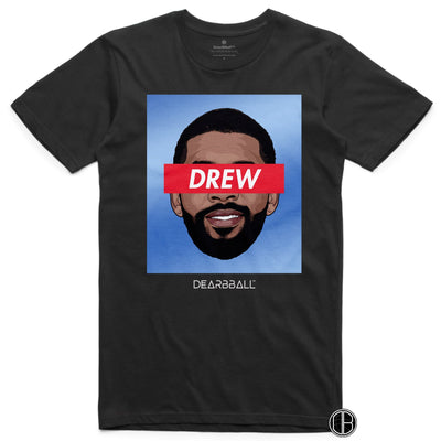 Kyrie Irving 2021 T-Shirt - Drew Tie-Dye Brooklyn Nets Basketball Dearbball black