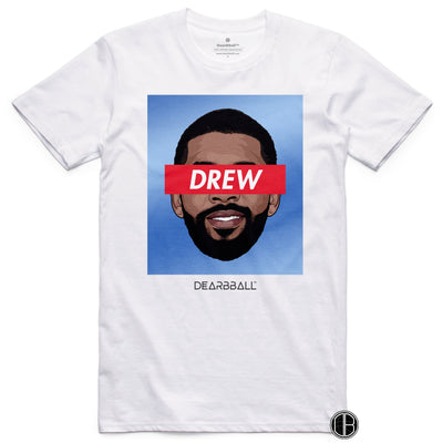 Kyrie Irving 2021 T-Shirt - Drew Tie-Dye Brooklyn Nets Basketball Dearbball white