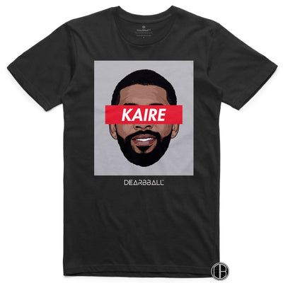 Kyrie Irving 2021 T-Shirt - Kaire Classic Brooklyn Nets Basketball Dearbball black