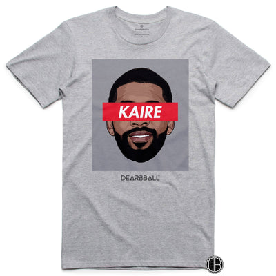 Kyrie Irving 2021 T-Shirt - Kaire Classic Brooklyn Nets Basketball Dearbball grey