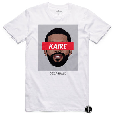 Kyrie Irving 2021 T-Shirt - Kaire Classic Brooklyn Nets Basketball Dearbball white