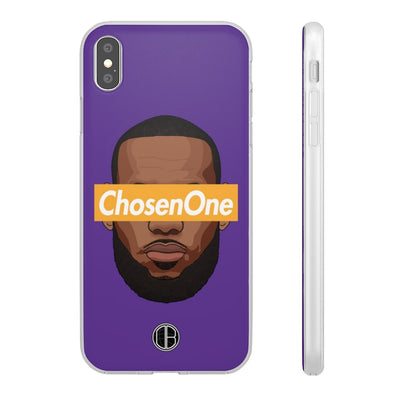 Lebron James Phone Cases - ChosenOne Purple Supremacy Premium