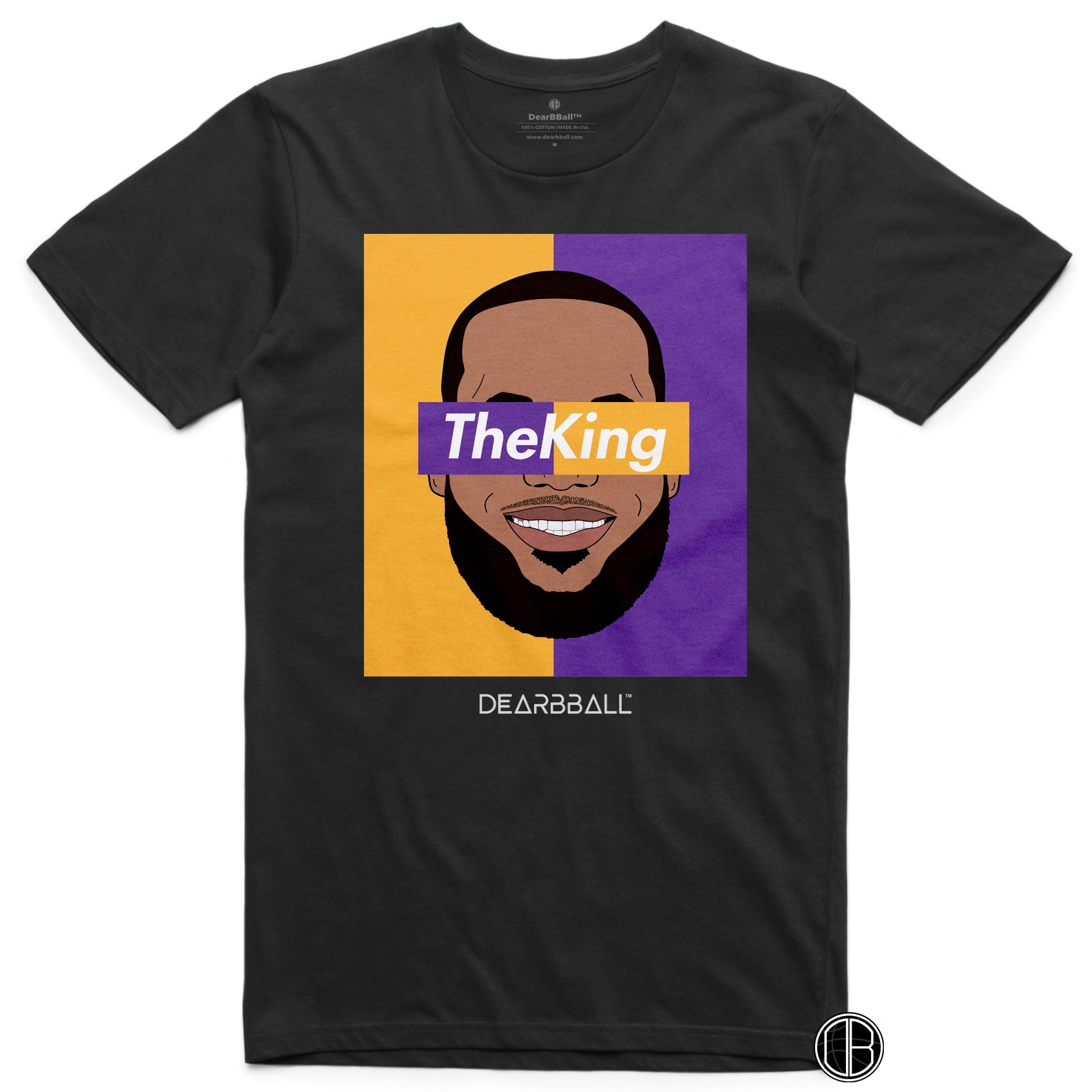 Lebron_James_Shirt_The_King_Dearbball_Black