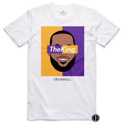 Lebron_James_Shirt_The_King_Dearbball_White